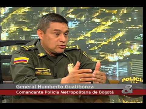 Pregunta Yamid:General Humberto Guatibonza,Comandante de la Policía, 12 de Febrero de 2015