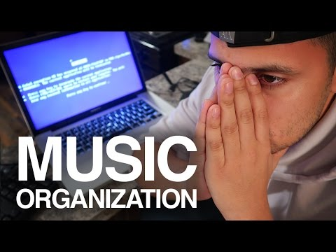 How I Organize My Music Library | BROKE My MacBook Pro