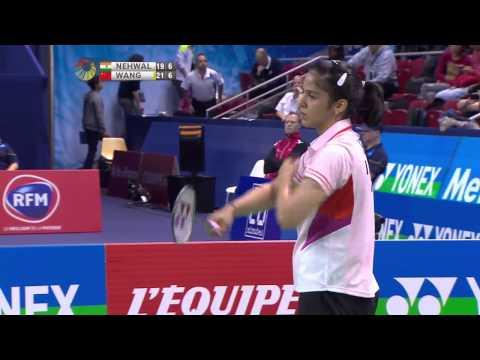 YONEX FRENCH OPEN 2014 - QF - Match 4