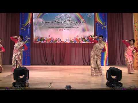 Assamese Bihu Dance 2014