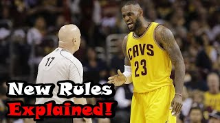 How The New NBA Rules Will Change The Game