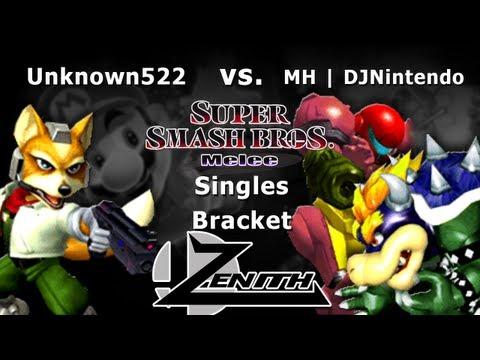Zenith 2013 - MH | DJNintendo (Samus Bowser) Vs. Unknown522 (Fox) Melee Singles Bracket - SSBM