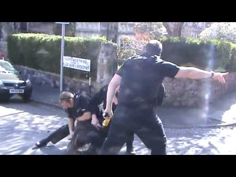 Police using reasonable force? You decide?