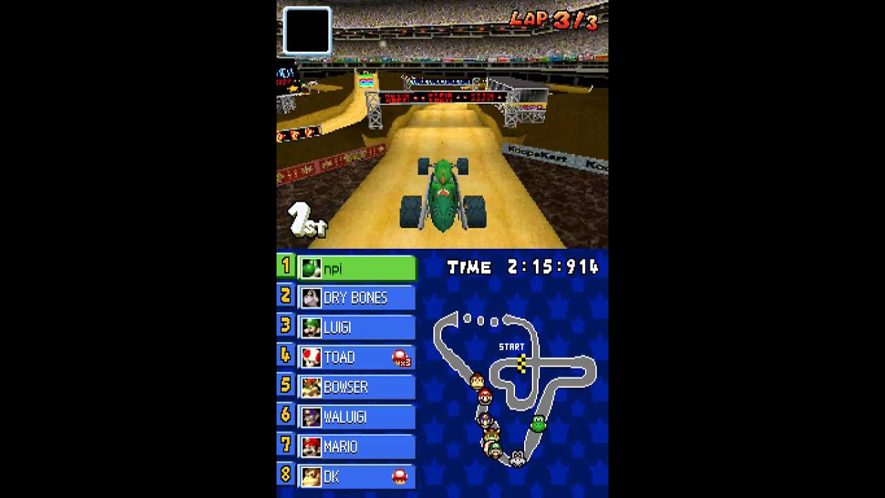 Get What Done Make It Right How You >> Nintendo DS Longplay [073] Mario Kart DS (part 2 of 3) - YouTube