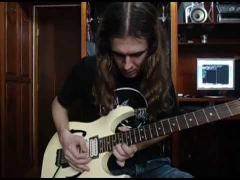 Adrian Smith - Iron Maiden Guitar Solos- by Samuel Chaves