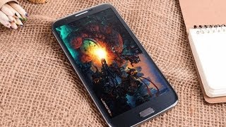 N9589 Quad Core mtk6589 android phone the world first reviews