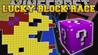 Minecraft: EPIC PACMAN LUCKY BLOCK RACE - Lucky Block Mod - Modded Mini-Game