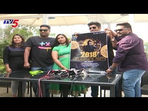 Splash NYE Party 2018 At Ridhira Retreat | Gandipet, Hyderabad | TV5 News