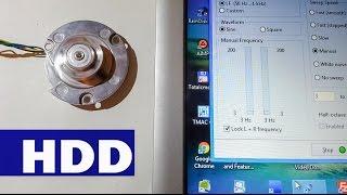 Hard disk, sabit disk motoru nasıl çalıştırılır? Ses kartı ile HDD motoru döndürme