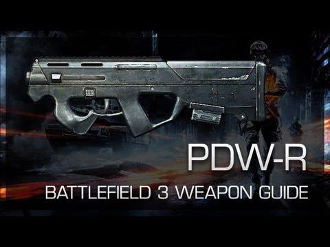 PDW-R : Battlefield 3 Weapon Guide, Gameplay & Gun Review