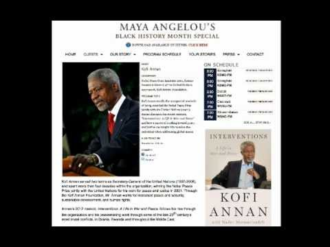 Kofi Annan 2013 Quote on Humiliation
