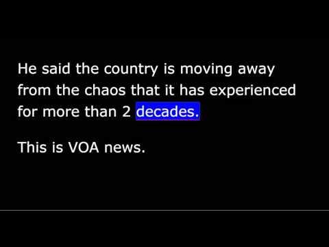VOA news for Tuesday, November 10th, 2015