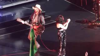 "Noah, Miley and Billy Ray Cyrus ""Achy Breaky Heart"" Madison Square Garden 2017"