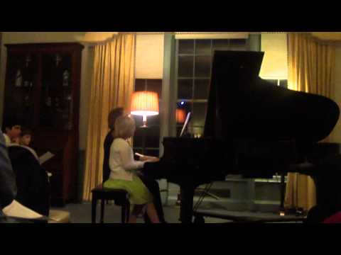 Nadine Piano Recital 3/7/13