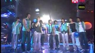 060831 Dancing Out + No.1 Win + Encore   - Super Junior