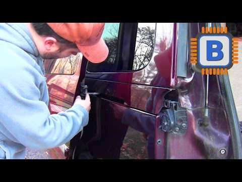 How to disable the power sliding doors on a Chevy Uplander. Buick Terraza. or Pontiac Montana