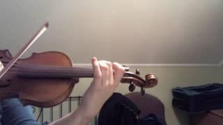 Violin Beginner (10 Month Progress) - Mazas Etude
