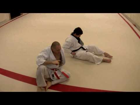 Judo Grappling- KesaGatame and Escape. Image 1