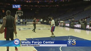 Sixers Prepare For Game 5 Against Heat