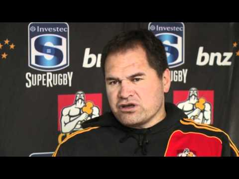 Chiefs Coach Dave Rennie on his 2012 Super rugby squad