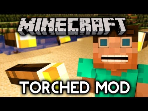 Minecraft Mod Showcase: TORCHED! - Rockets of Light and Magical Golden Nuggets