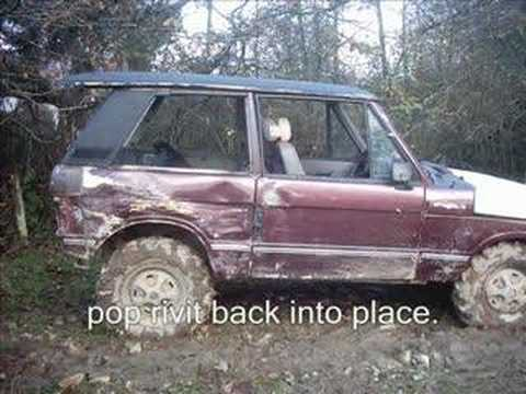 How To Bobtail A Range Rover Classic Youtube