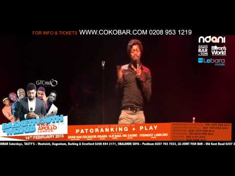 Basketmouth how Sex Changed - Basketmouth Live At The Apollo - 14th Feb 2015 - Hmv video