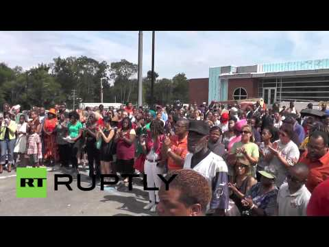 USA: Ferguson rallies after shooting of unarmed black teen Michael Brown