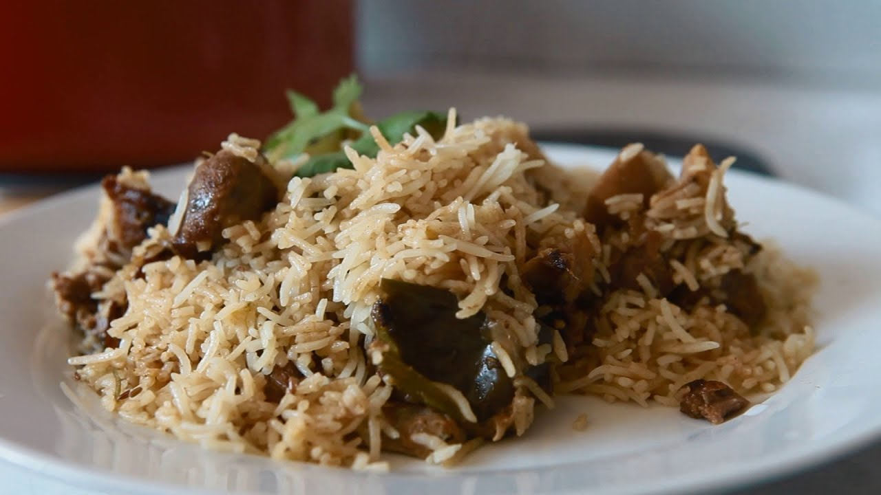 mutton biryani at home in easy and simple steps youtube