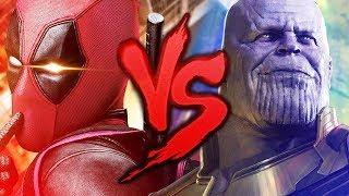 Deadpool VS. Thanos (Guerra Infinita)   Batalha de Mestres