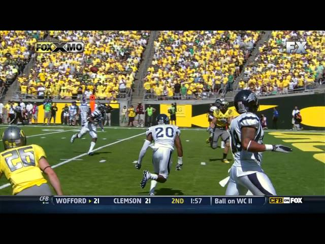 Oregon's Most Important Offensive Play