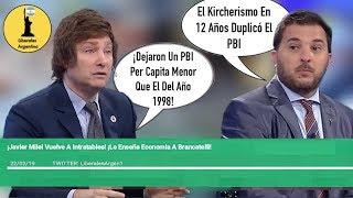 ¡Javier Milei Le Enseña Economía A Brancatelli!