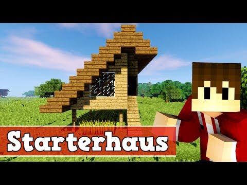 Wie Baut Man Ein Starter Haus In Minecraft Minecraft Starterhaus - Minecraft hauser zum nachbauen deutsch
