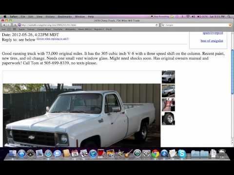 Craigslist Used Work Trucks Photos