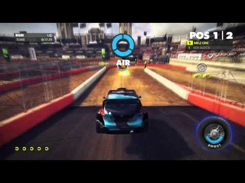 DiRT Showdown @gameplay in HD6870