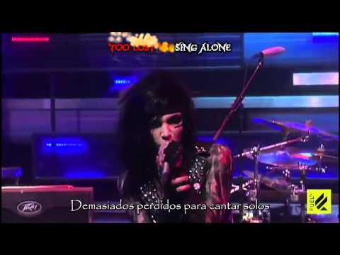 Black Veil Brides  Fallen Angels Live Sub Español Y Karaoke video