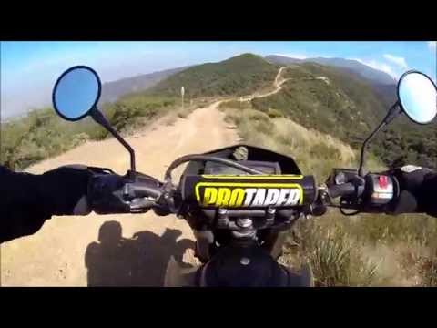 KLX250S & CRF250L On Fire Roads
