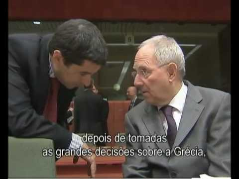 Eurogroup: Wolfgang Schauble reassures Vítor Gaspar on the adjustment of Portugal (IT, EN & PT)
