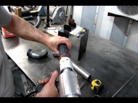Fabbing Up New Exhaust With A Huth Expander Youtube