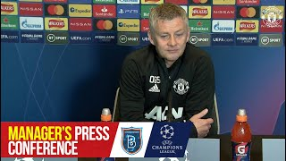 Manager's Press Conference | Manchester United v Istanbul Basaksehir | UEFA Champions League