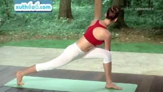 yoga cùng gái xinh|Восстановление энергии за 30 минут — Йога для начинающих.