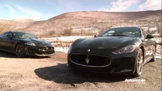 Peak Performers: 2012 Jaguar XKR-S and 2012 Maserati GranTurismo MC