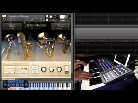 Native Instruments Session Horns review - SoundsAndGear