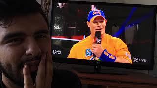 Reaction Video: WWE Monday Night Raw John Cena & Roman Reigns Promo Segment