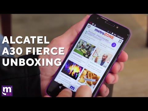 Alcatel A30 Fierce Unboxing | MetroPCS | Product Review