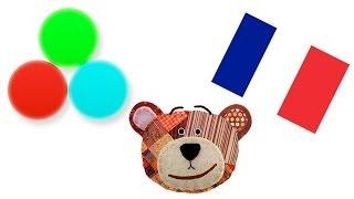 Farben lernen für Kinder und Kleinkinder im Französisch