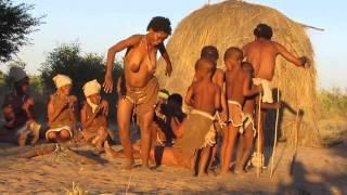 Kalahari San Bushmen Dancing