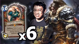 6 KINGS MAKES FOR EASY WINS!   Heist Ch. 5   Rise of Shadows   Hearthstone