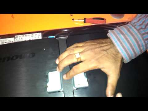 lenovo B320 memory ram and harddisk upgradation video in full hd