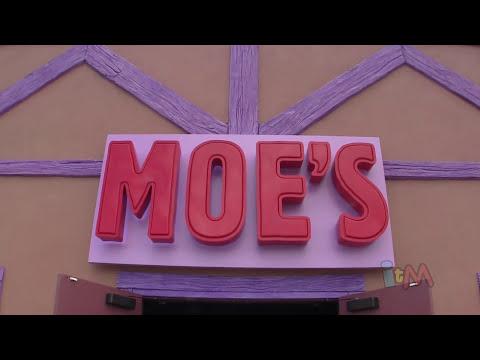Moe's Tavern opening